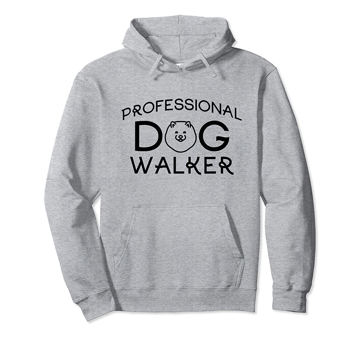 Professional Dog Walker Cute Puppy Tshirt Pet Lover T-Shirt-Hoodie-Sport Grey