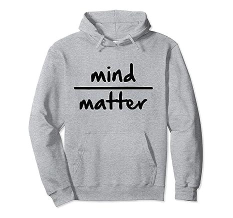 Amazon.com: Yoga Hoodie - Mind Over Matter Meditation ...