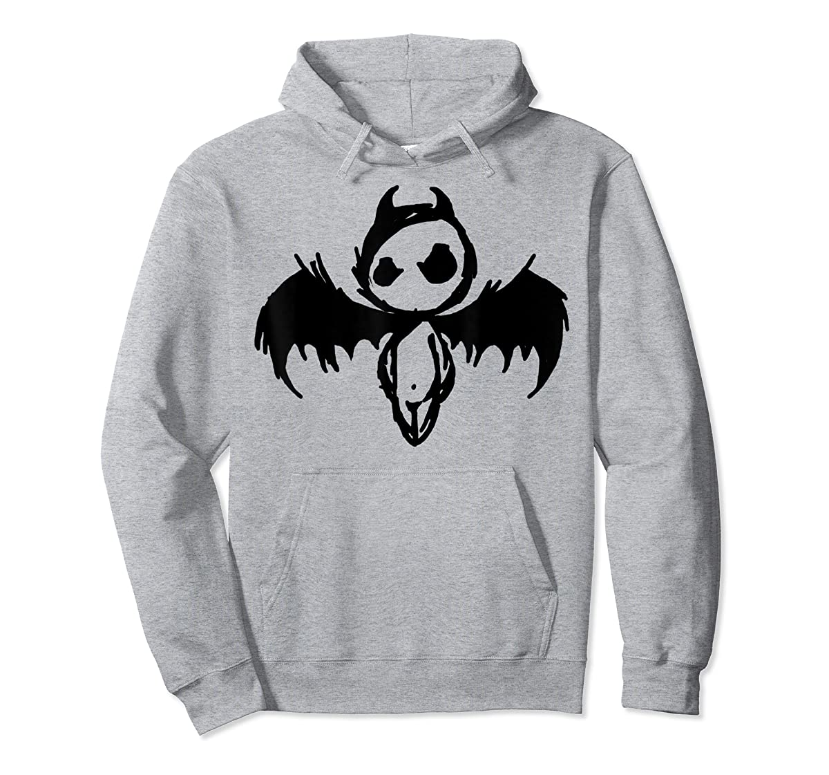 Cute Demon Vintage Couple Matching Halloween Party Costume  T-Shirt-Hoodie-Sport Grey