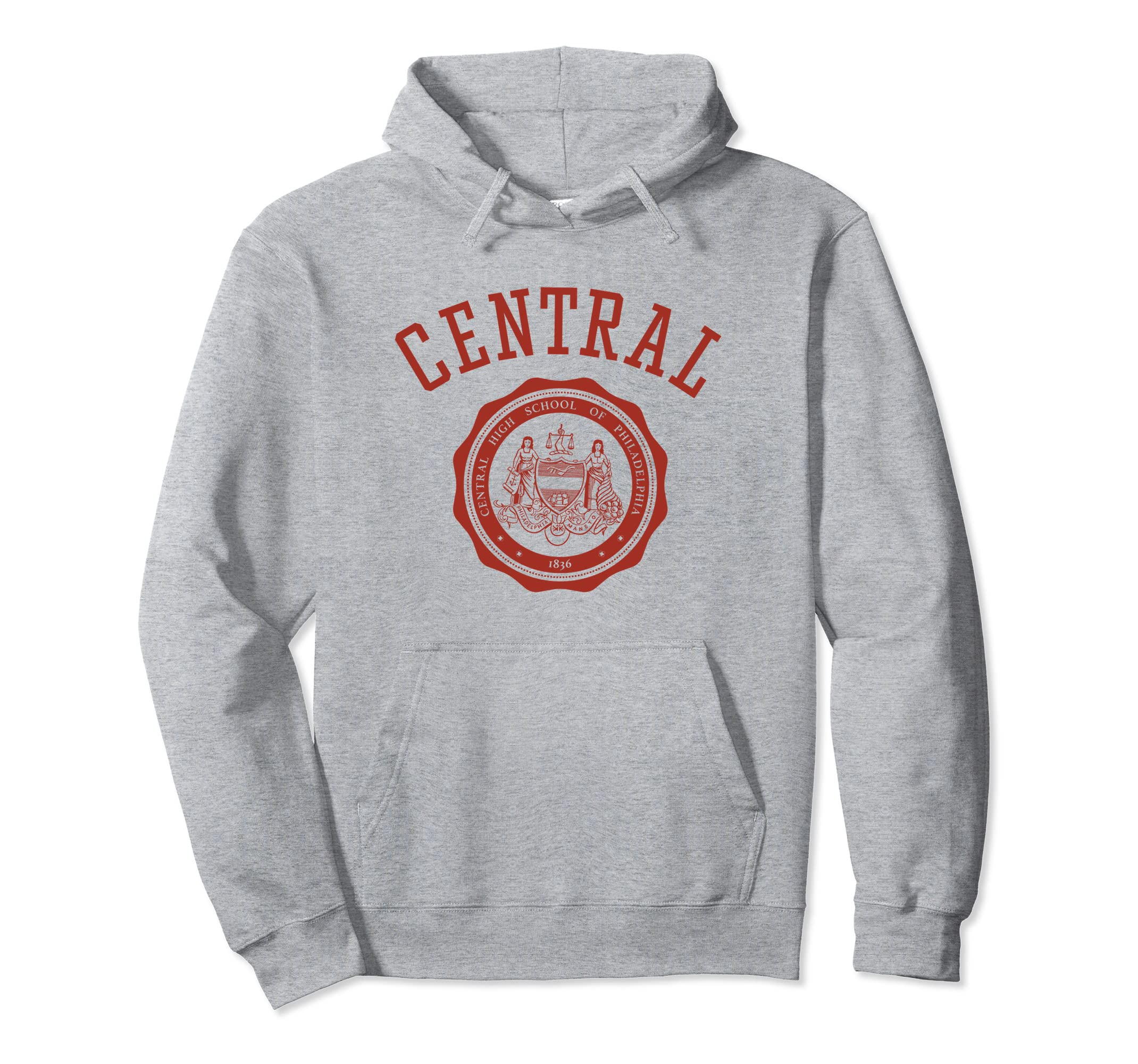 Classic Central High School Hoodie-Rose