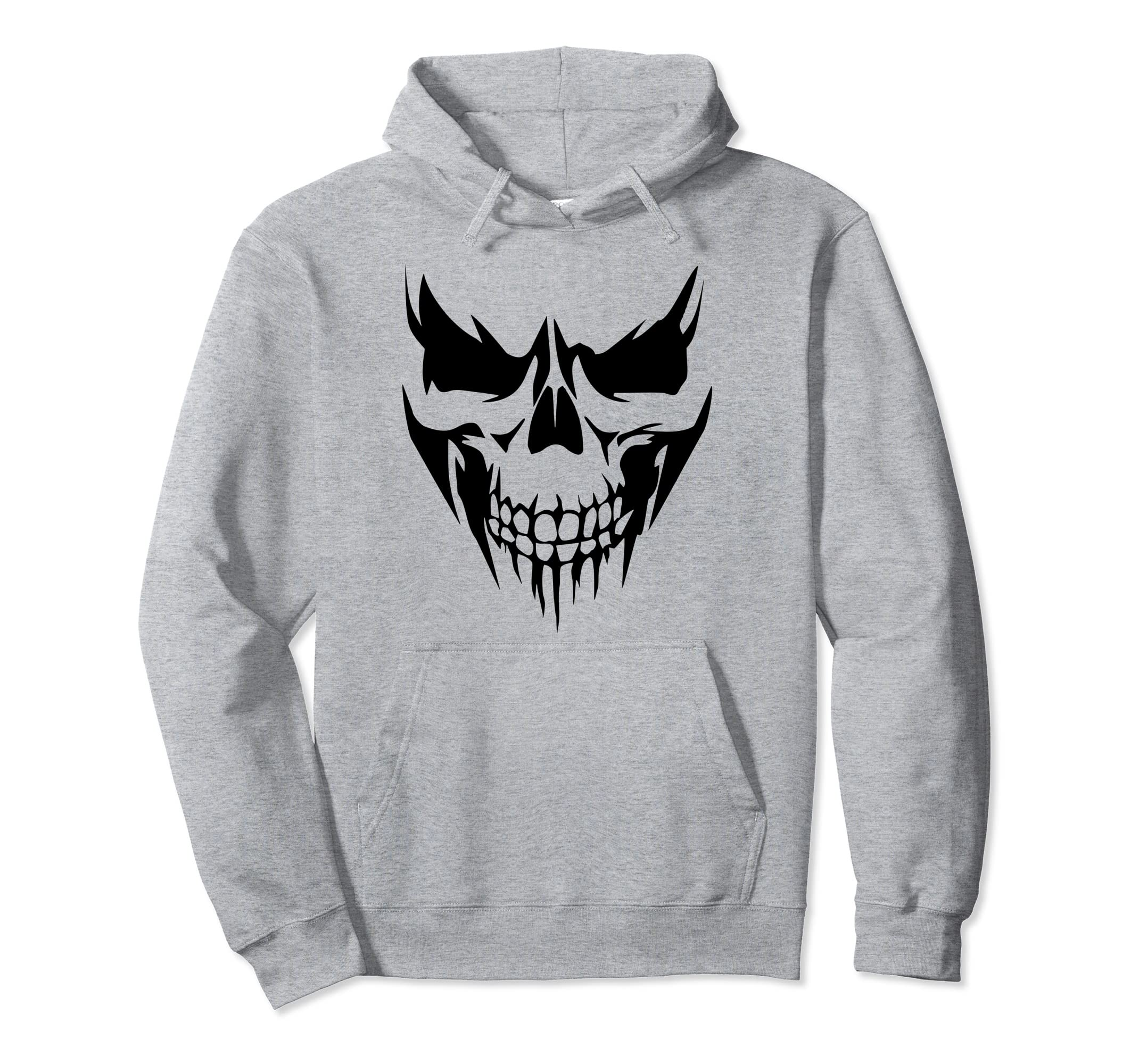 Amazon.com: SKULL DARK DEMON DEMONIO INFERNAL REAL DEAD FACE SHIRT: Clothing
