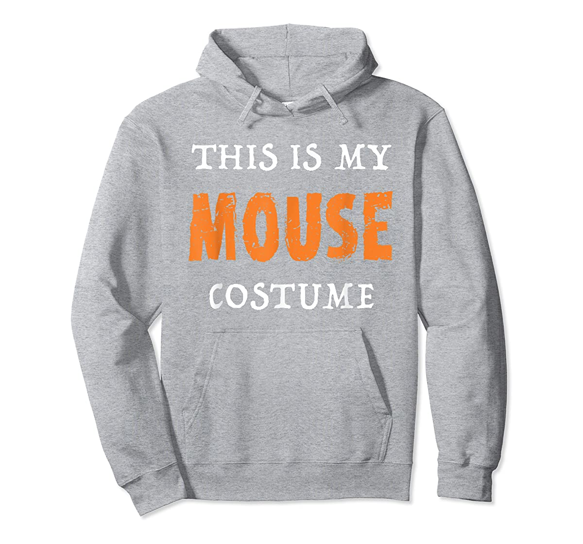 Funny This Is My Mouse Costume Halloween  T-Shirt-Hoodie-Sport Grey