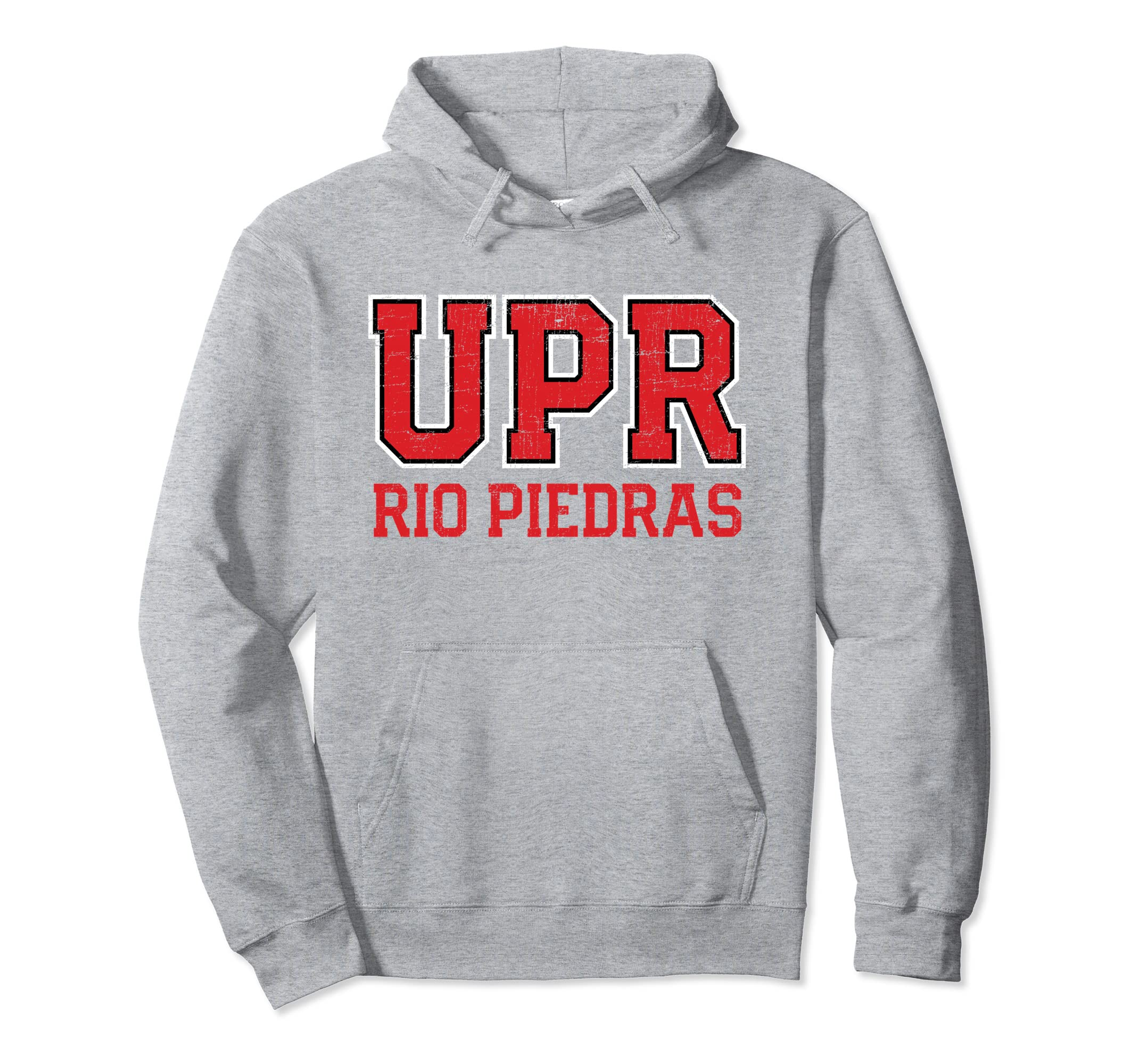 Amazon.com: Universidad de Puerto Rico Rio Piedras IUPI UPR Hoodie: Clothing