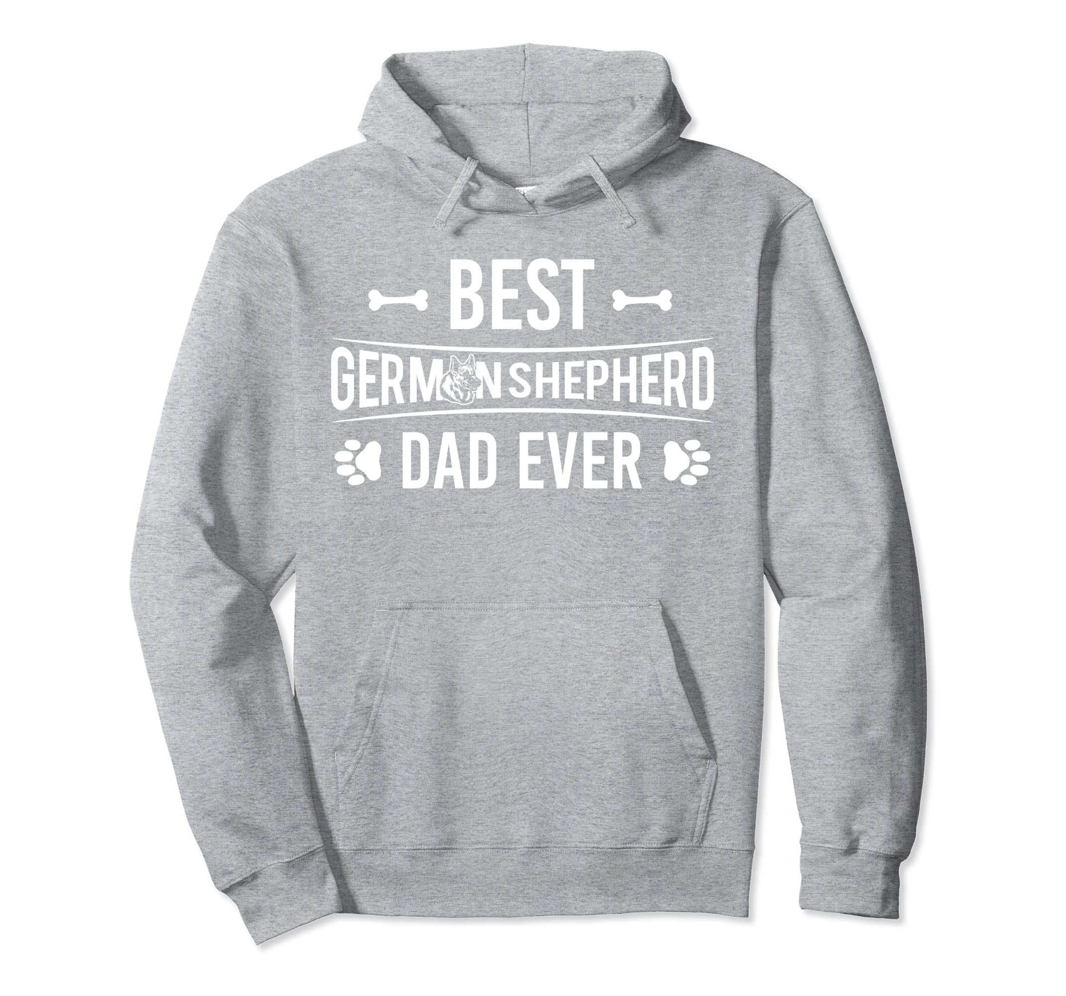 Best German Shepherd Dad Ever Hoodie-ANZ