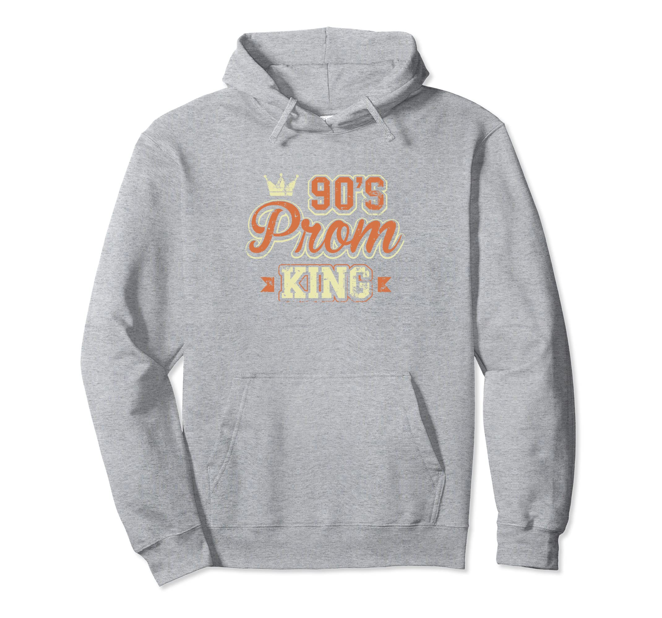 90's Prom King Nineties Retro Throwback Theme Hoodie-azvn