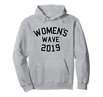 f0803e10db85c Amazon.com  Women s Wave 2019 Women March Hoodie  Clothing
