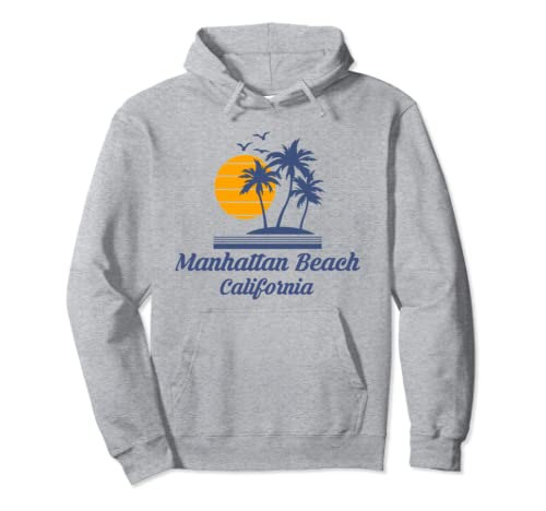 Manhattan Beach California Ca City Home Souvenir Tourist Pullover Hoodie