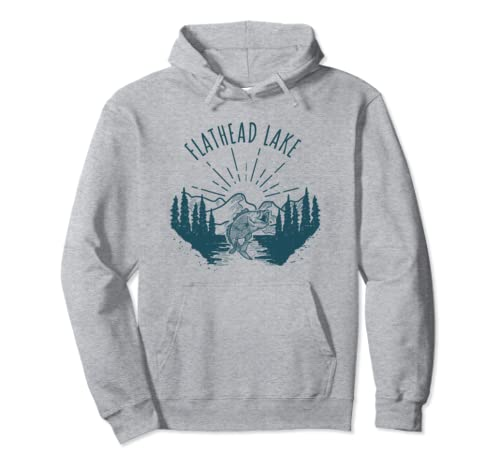 Beautiful Flathead Lake Product Pullover Hoodie