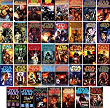 Star Wars 39 Book Set - 12 Trilogy Sets, Tales Quintology & 2 Duologies: Hand Thrawn Mara Jade Black Fleet Dark Nest Bount...