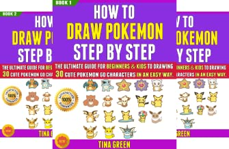 How To Draw Pokemon Step By Step (8 Book Series)