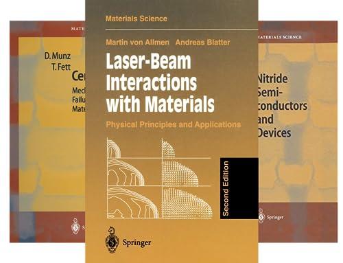 Springer Series in Materials Science (51-100) (50 Book Series)