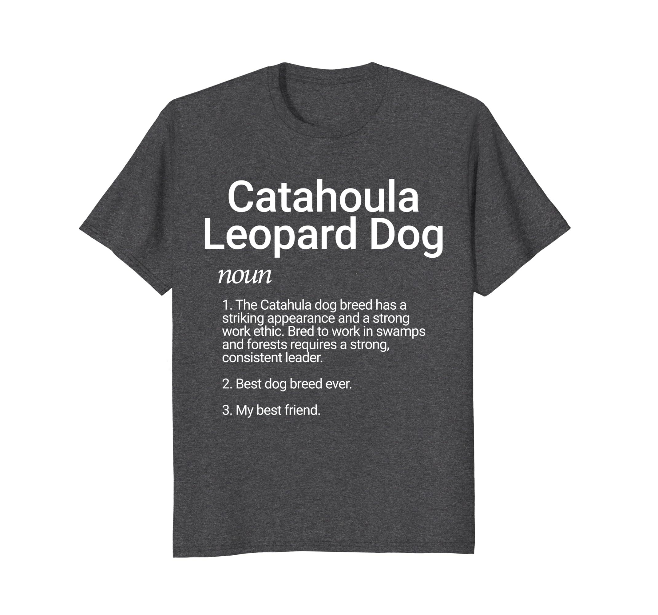 Catahoula Leopard Dog Breed Definition Shirt Dog Lover-AZP