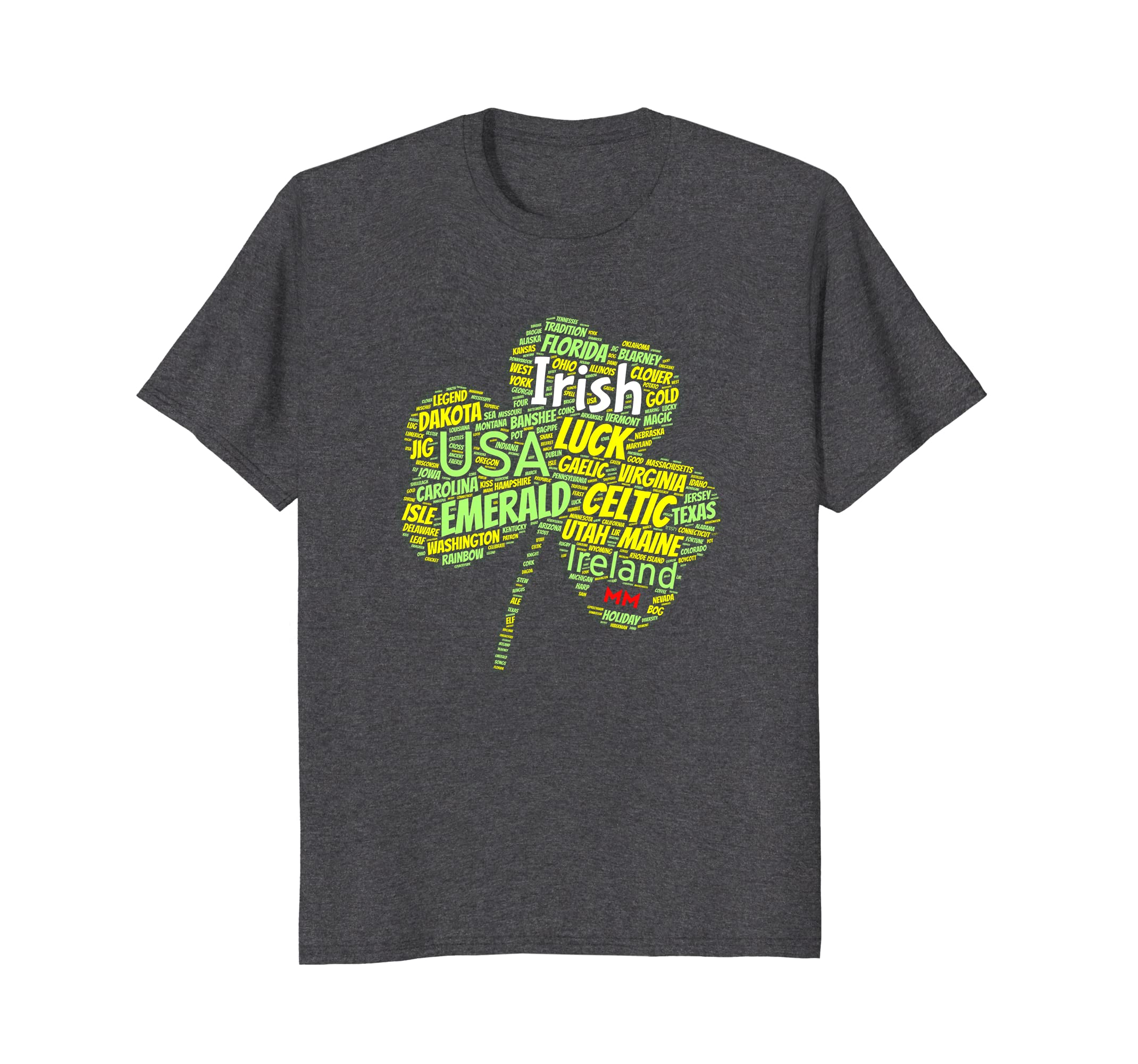 American Irish shamrock Tshirt Patricks 2018