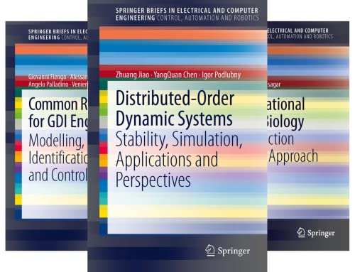 SpringerBriefs in Control, Automation and Robotics (26 Book Series)