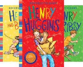 Beverly Cleary, Henry Huggins Series (Boxed Set) (Henry in the Clubhouse, Henry Huggins, Henry and Beezus, and Henry and Ribsy) (4 Book Series)