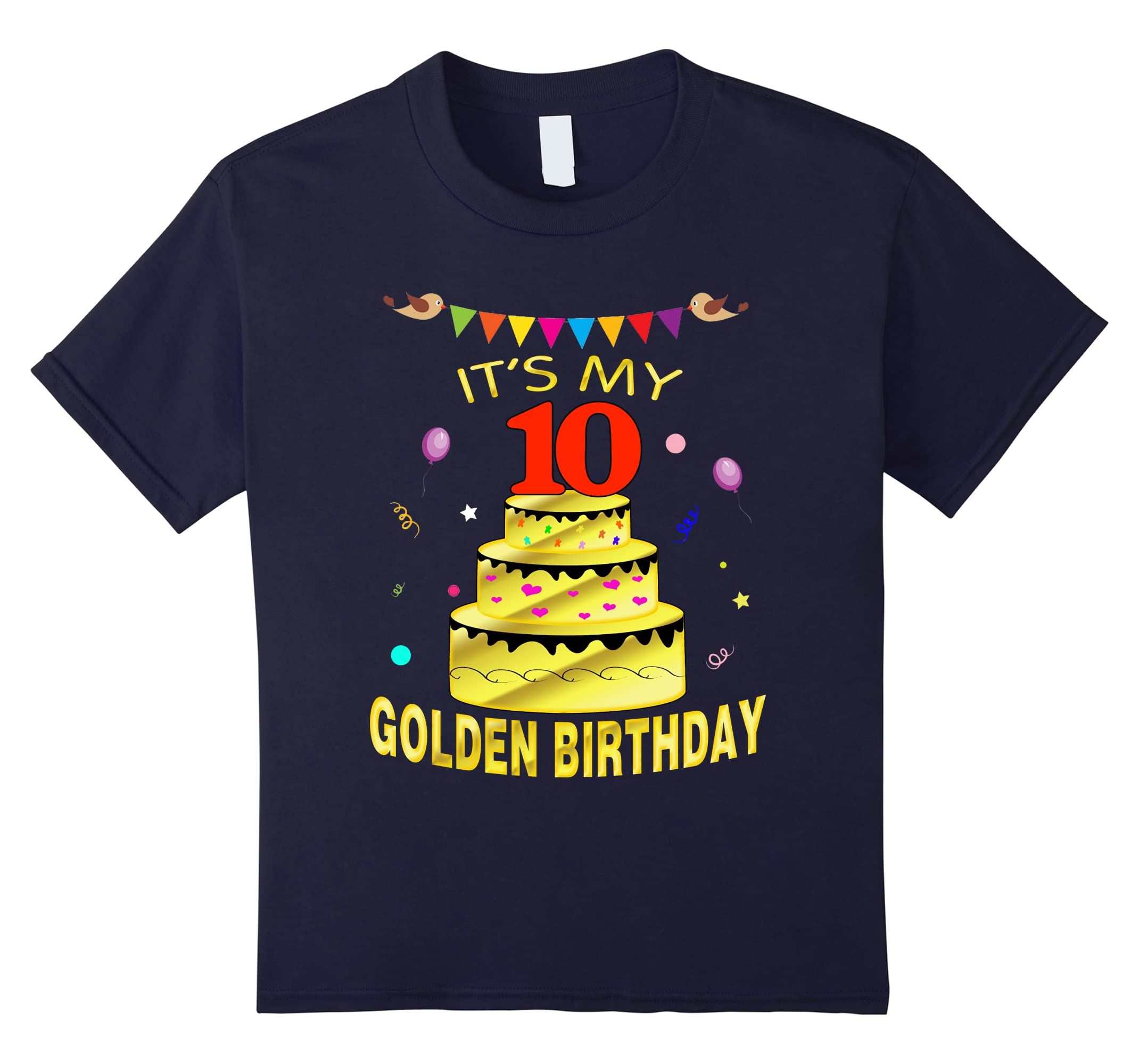 10 Birthday Years Old 10th-Tovacu