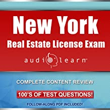 New York Real Estate License Exam AudioLearn: Complete Audio Review for the Real Estate License Examination in New York!