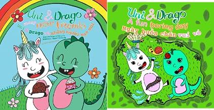 Uni & Drago - EN-VI Bilingual (2 Book Series)
