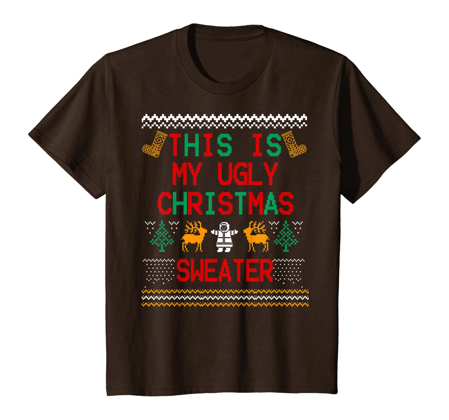 This Is My Ugly Tee, Funny Christmas Noel Eve Gift T-Shirt Youth
