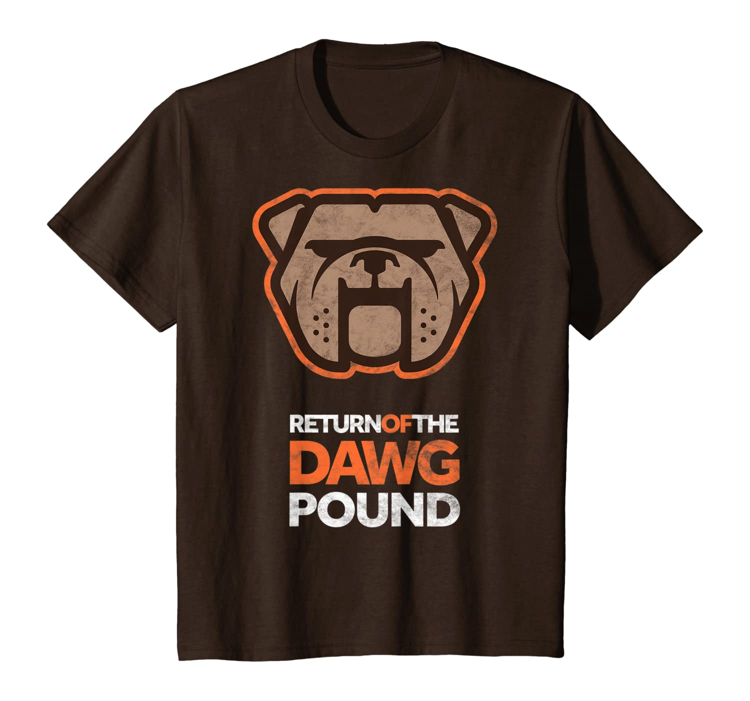 Cool New Brown Dawg Pound Sunday Tailgate Cleveland Football T-Shirt