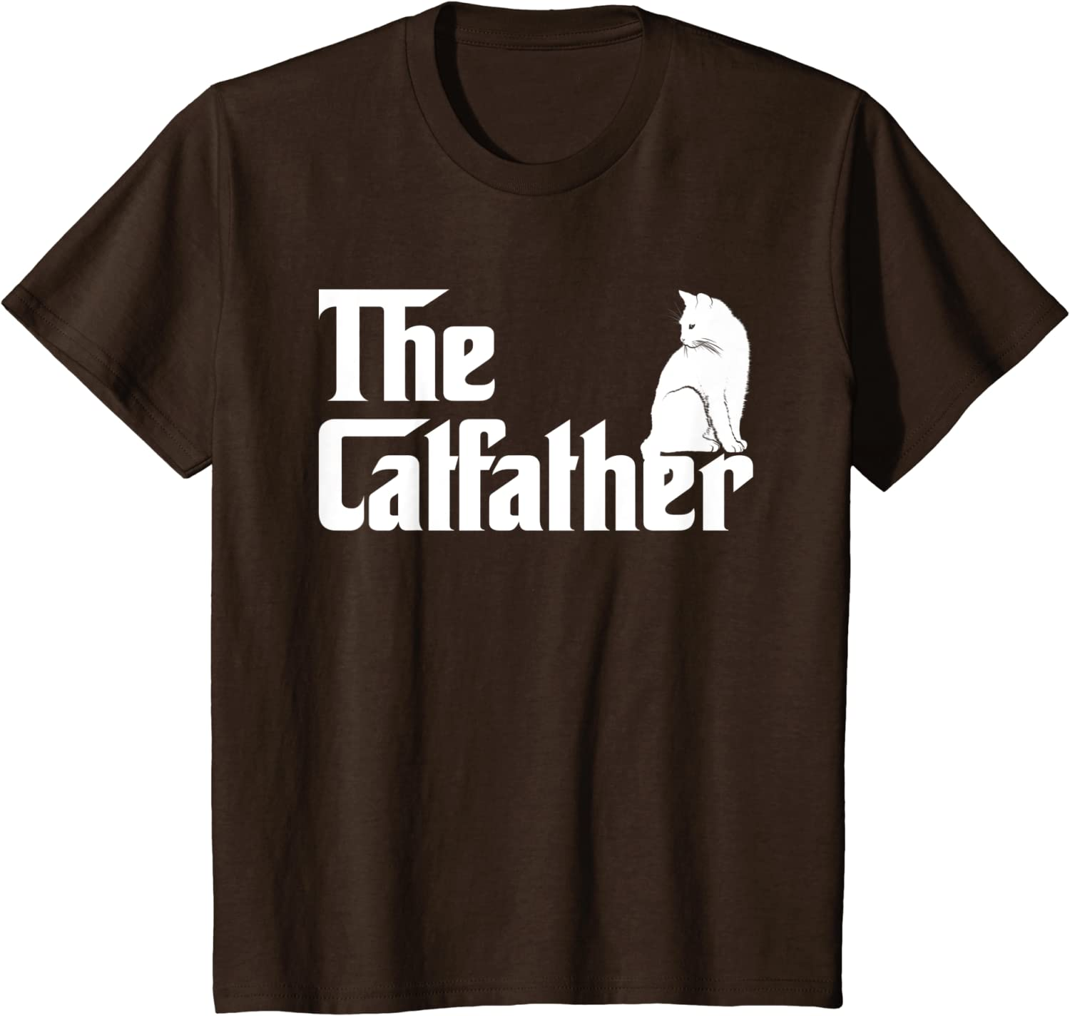 The Catfather Funny Cat Parody Father Day Men/'s T-Shirt S to 3XL
