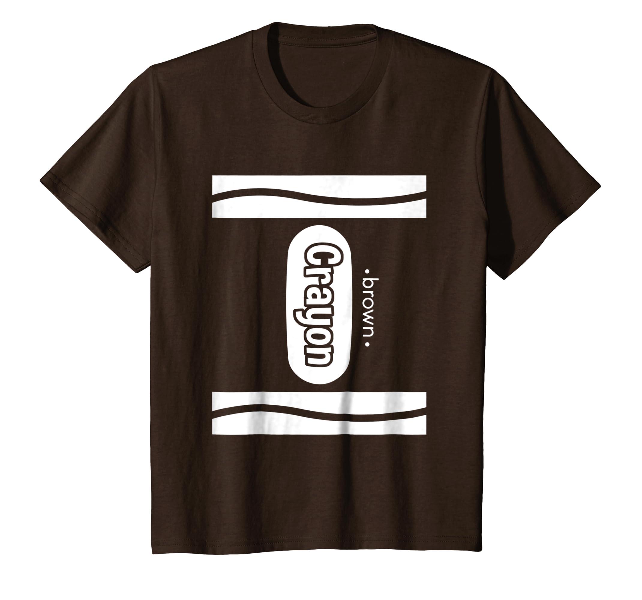 Brown Crayon Costume Shirt