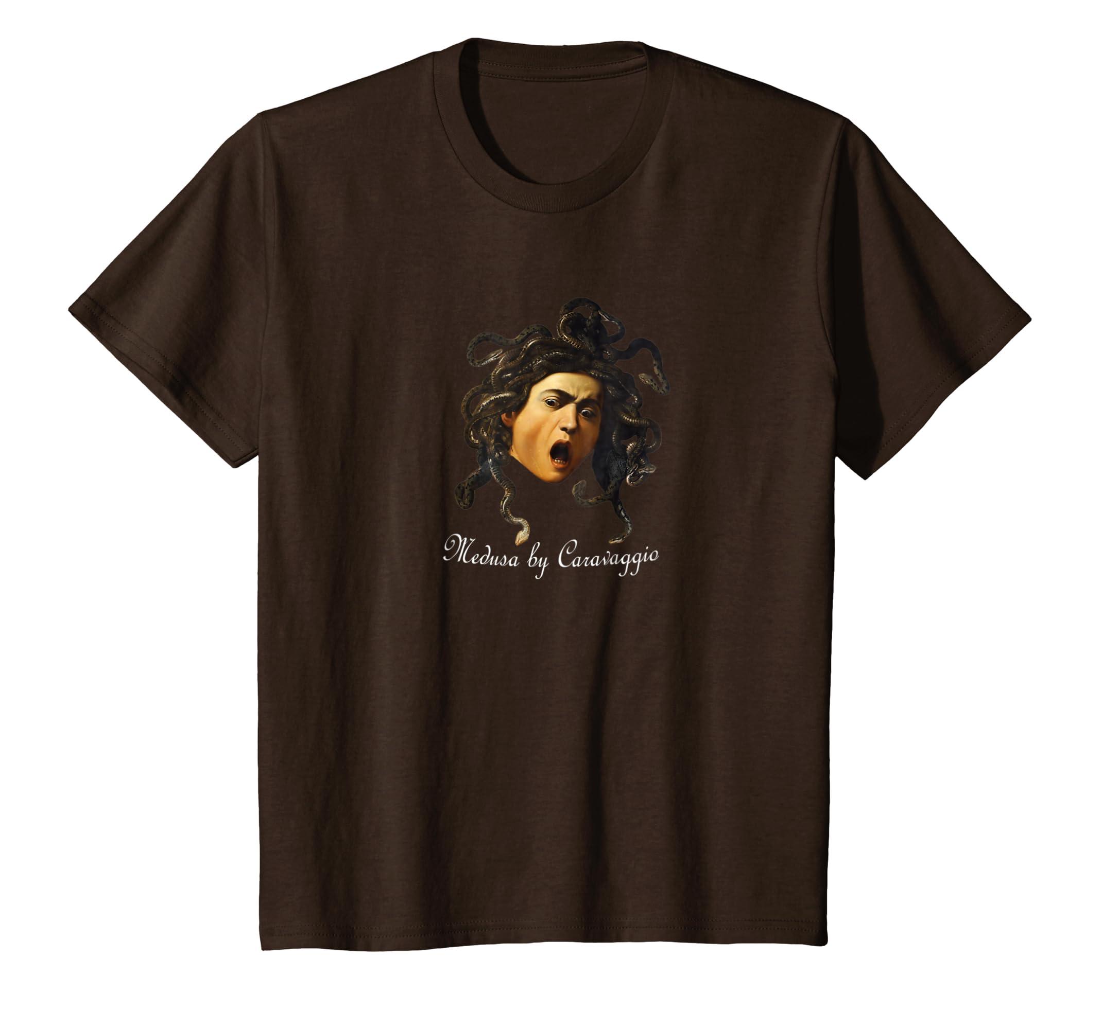 d9d3468320 Amazon.com: T-Shirt Medusa by Caravaggio: Clothing