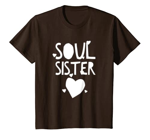 c73b5120c7cd21 Amazon.com: Hey Soul Sister T-Shirt for Bestfriends: Clothing