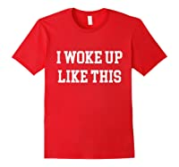 Lke Ths Funny Gag Novelty Gift Dea Shirts Red