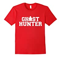 Ghost Hunter T-shirt Red