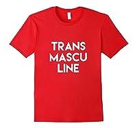Transmasculine Transgender Trans Pride Shirts Red
