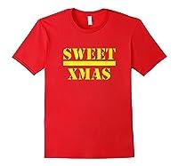 Sweet Xmas Love Harlem Shirts Red