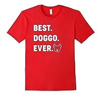 Best Doggo Ever T-shirt Red