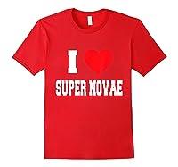 Love Super Novae Shirts Red
