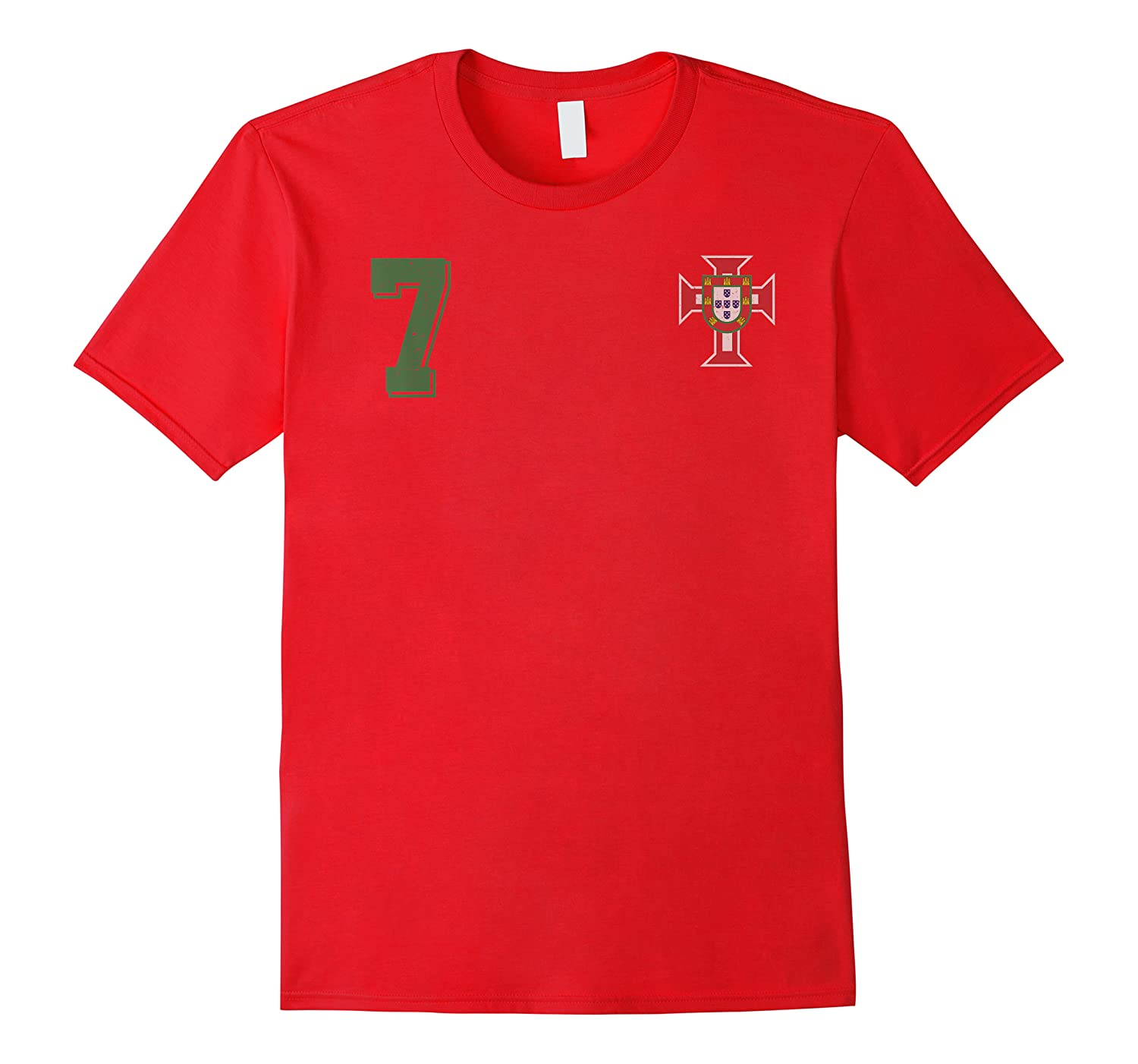 Portugal Design In Football Soccer Style For Portuguese Fans T-shirt