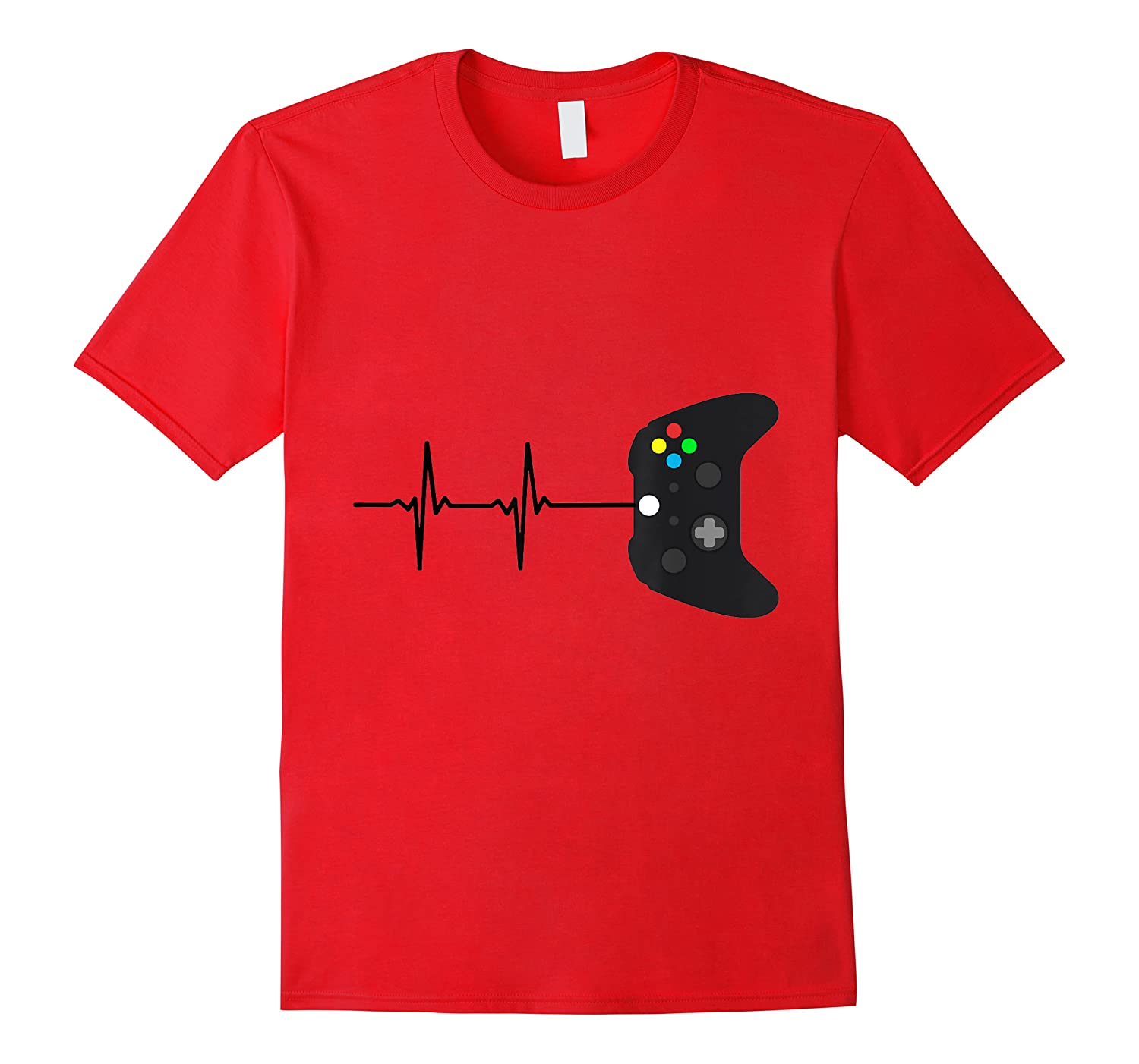 Gamers Heartbeat Game Lovers Shirts