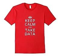 Therapis Speech Therapis Take Data Shirts Red
