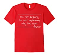 Quote Personalized Name Funny Birthday Gift Idea Shirts Red