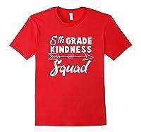 Tea Team Shirt - 5th Grade Kindness Squad Gift Red
