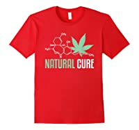 Natural Cure Cbd T-shirt Red