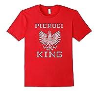 Pierogi King 2 Shirts Red