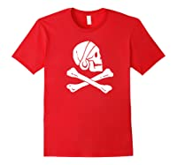 Uncharted Henry Avery Pirate Flag Shirt Red