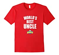 Morehead State Eagles World's Best Uncle - Bold Premium T-shirt Red