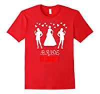 Funny Wedding Bride Security Wedding Gift Shirts Red
