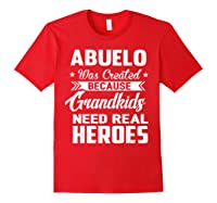 365 Abuelo Funny Grandpa Grandfather Gift Shirts Red