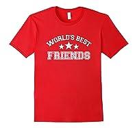 World\\\'s Best Friends T-shirt Red