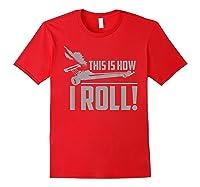 Vintage Drag Racing Funny 1/4 Mile Racer Gift T-shirt Red