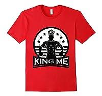 Grand Arte: King Me Boxing T-shirt Red