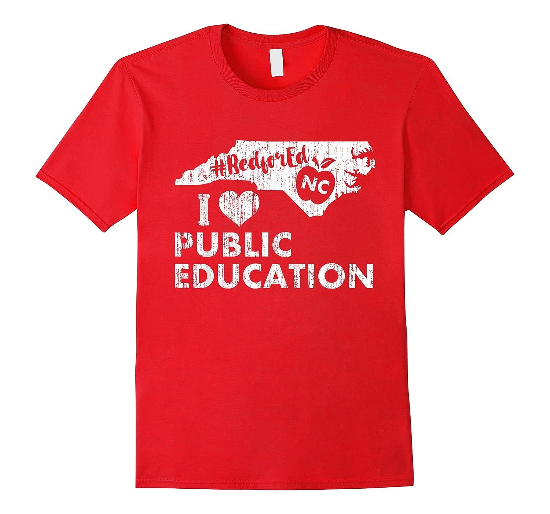 Nc Red For Ed - North Carolina Tea Love T-shirt