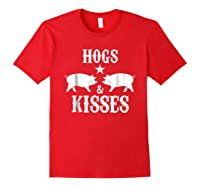 Kisses Graphic Shirts Red
